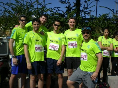 Mars Media Group Marathon Team